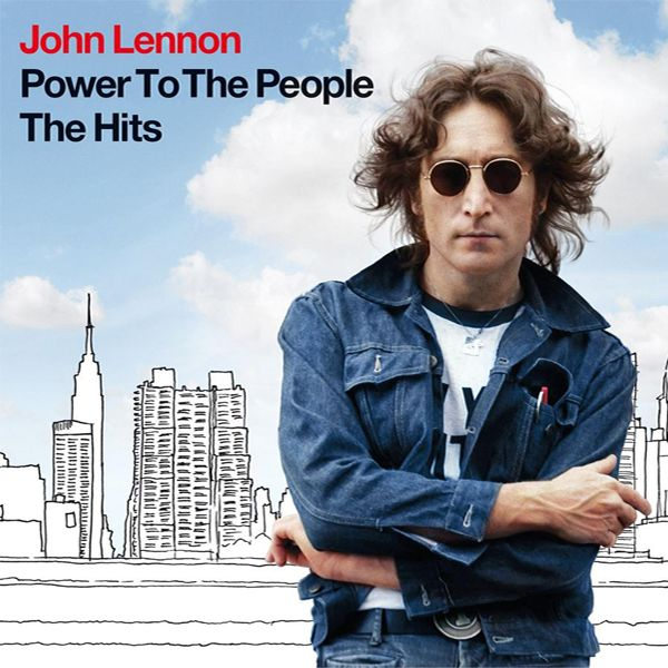 John Lennon - Power To The People - The Hits album cover