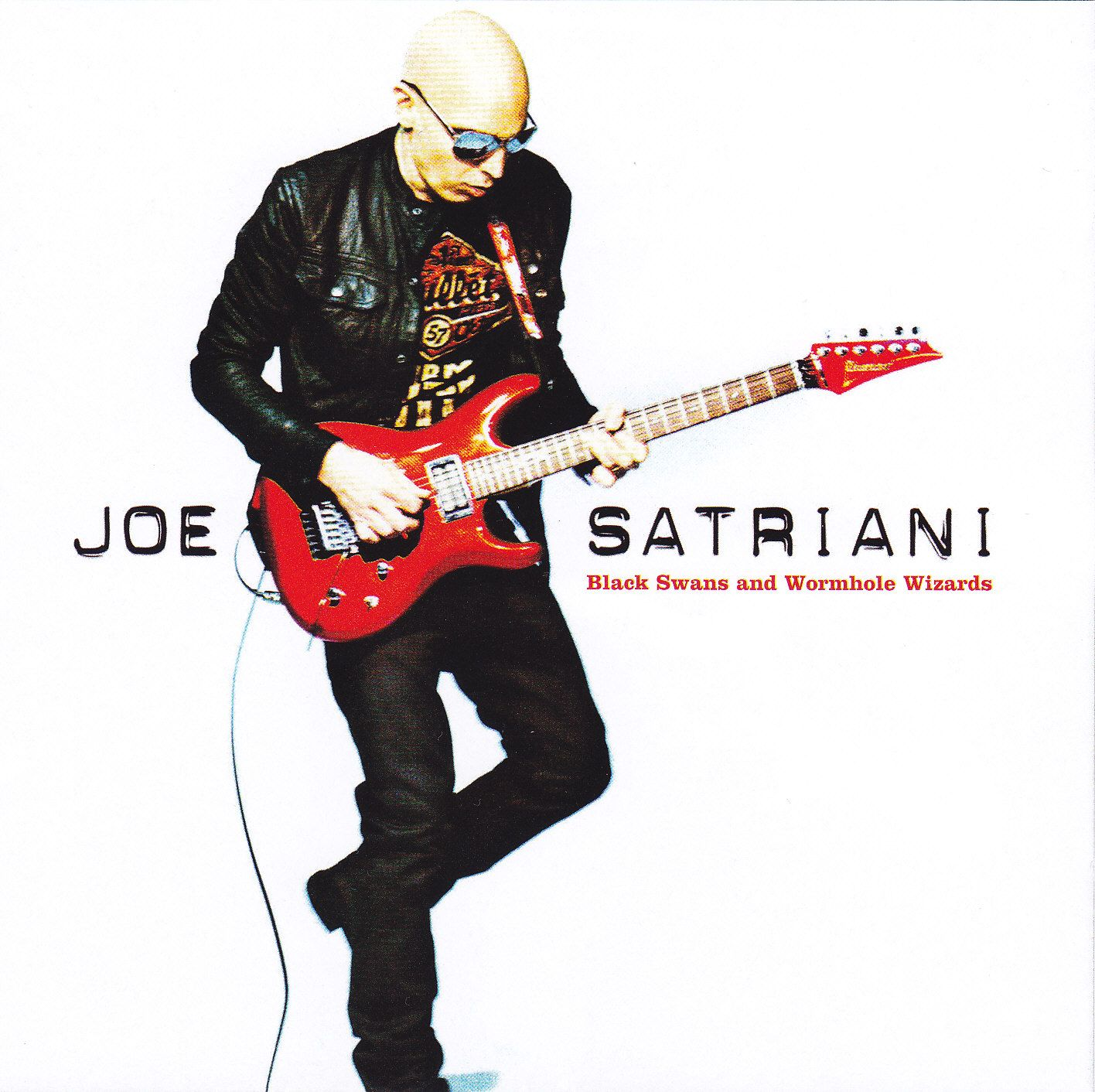 Joe Satriani - Black Swans And Wormhole Wizards album cover