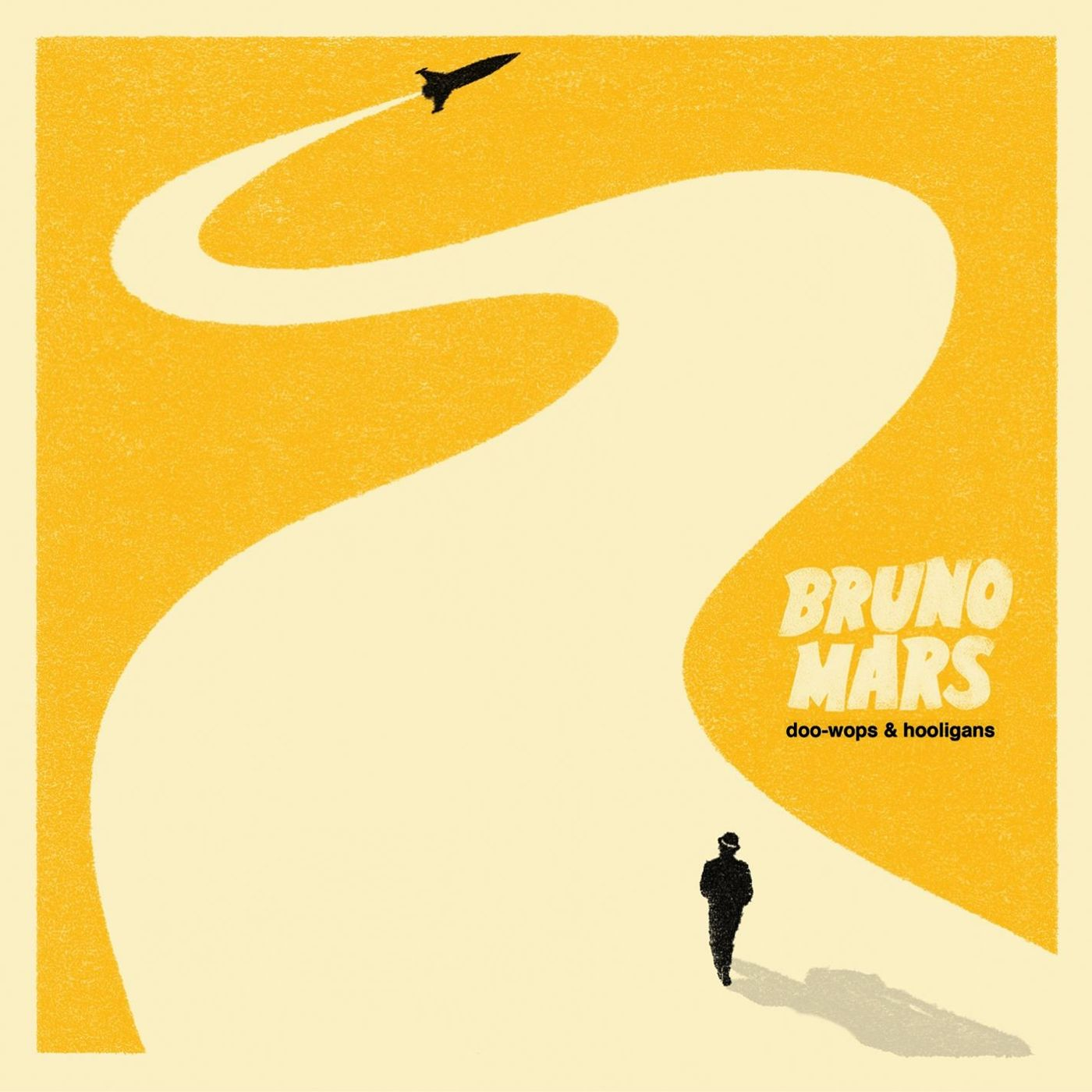 Bruno Mars - Doo-wops & Hooligans album cover
