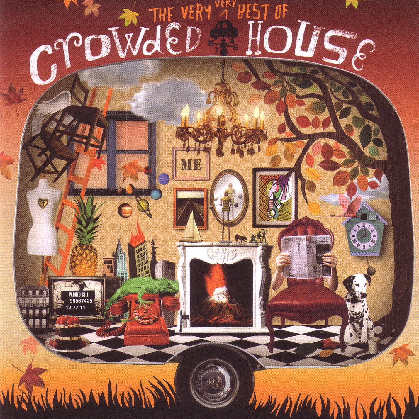 The very very best of crowded house by crowded house for House music 1986