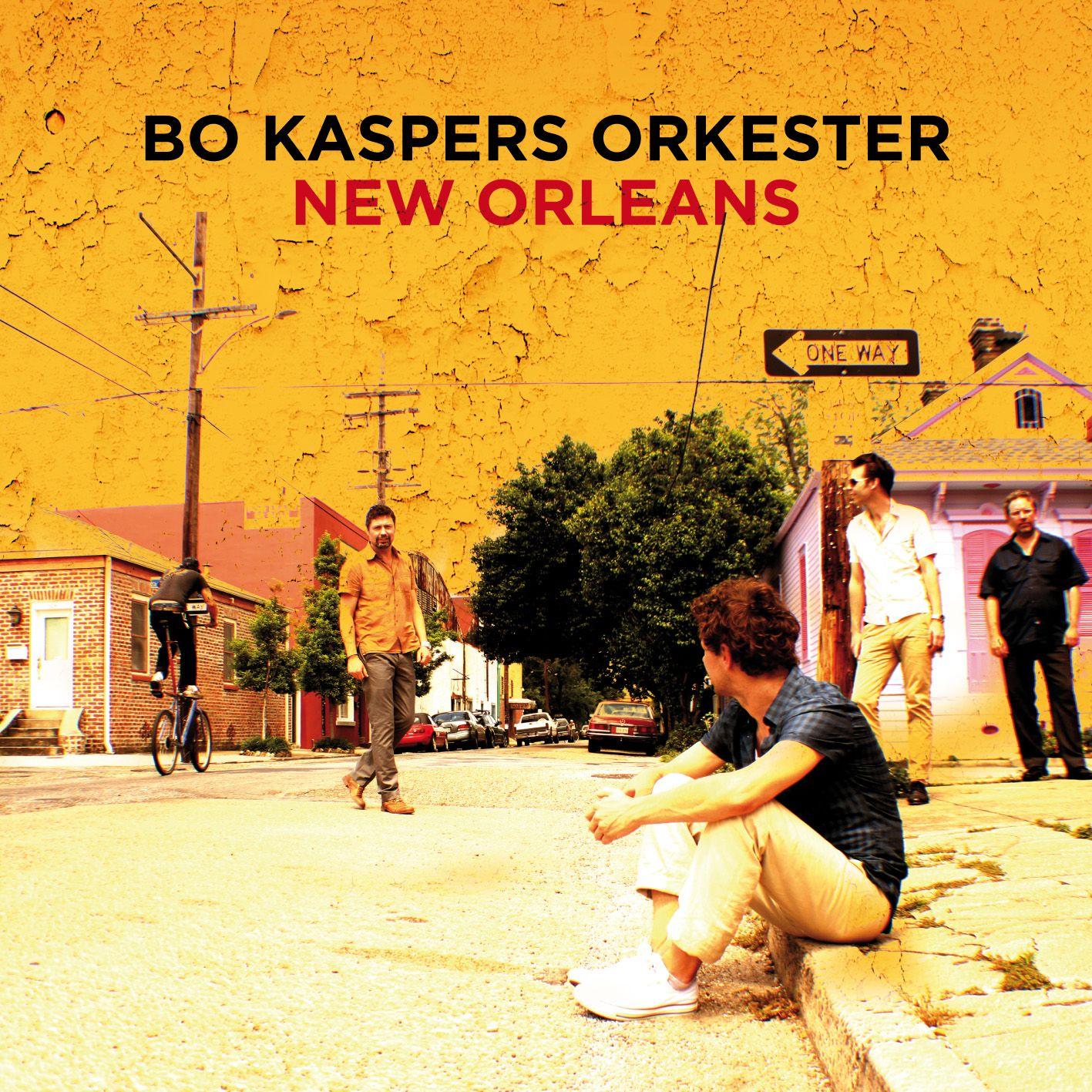 Bo Kaspers Orkester - New Orleans album cover