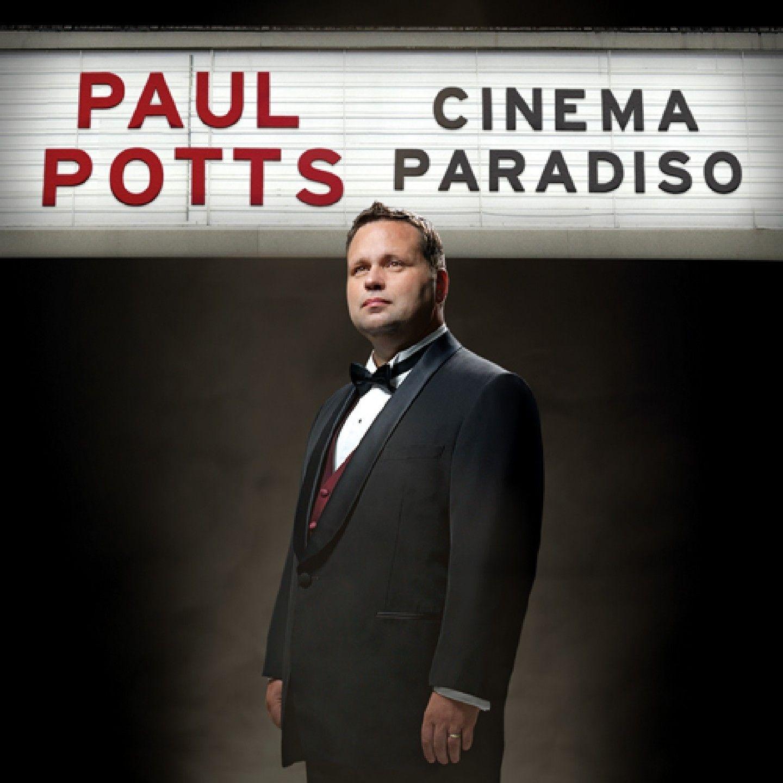 Paul Potts - Cinema Paradiso album cover
