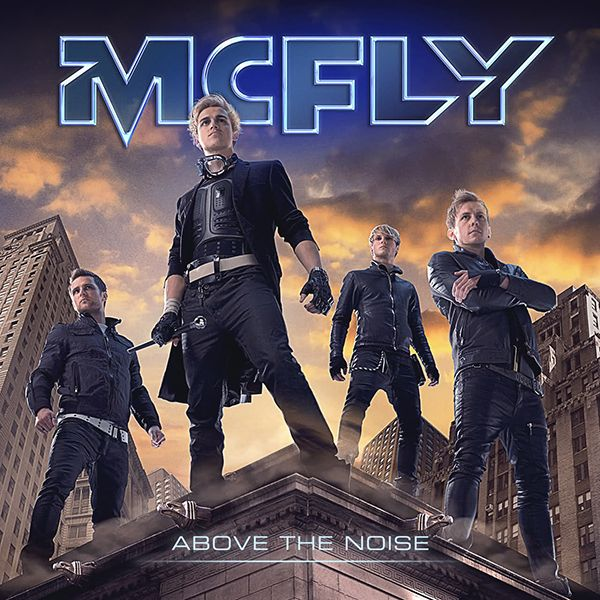 McFly - Above The Noise album cover