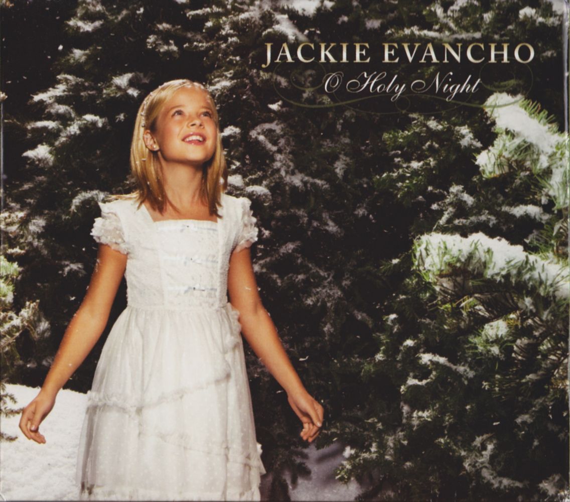 Jackie Evancho - O Holy Night album cover