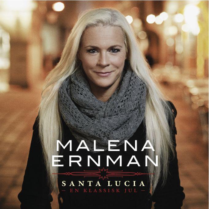 Malena Ernman - Santa Lucia - En Klassisk Jul album cover