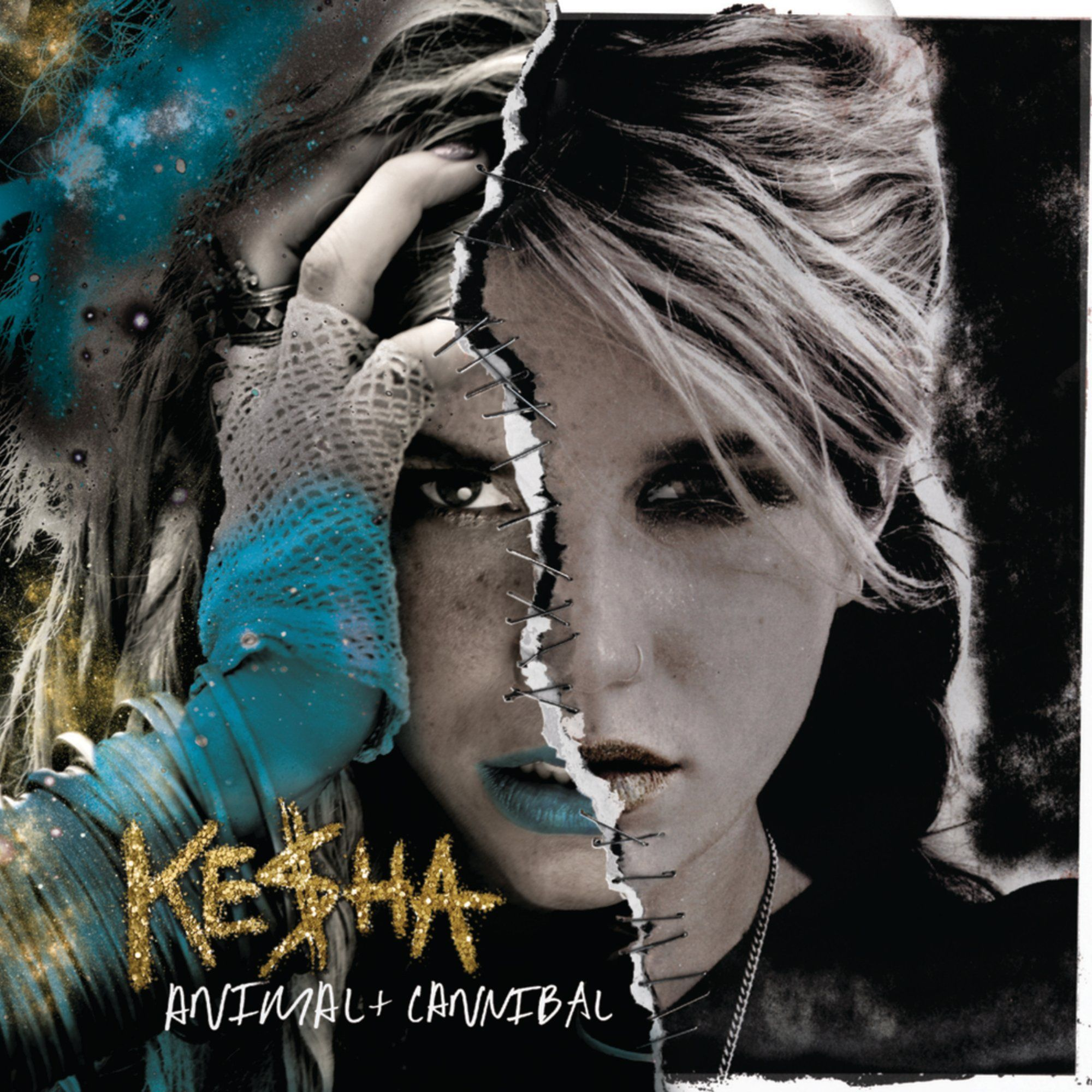Ke$ha - Animal + Cannibal album cover