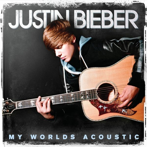 Justin Bieber - My Worlds Acoustic album cover