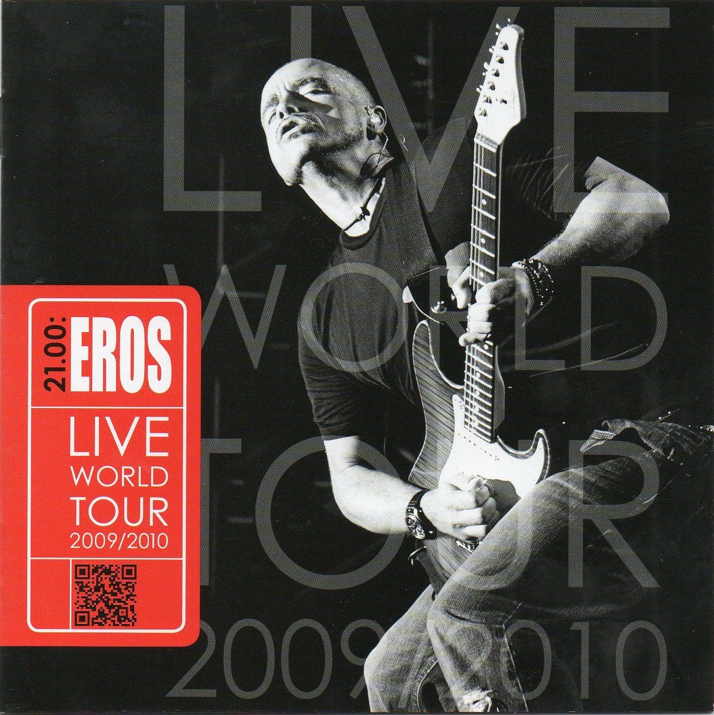 Eros Ramazzotti - 21.00: Eros Live World Tour album cover