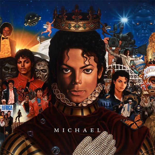 Michael Jackson - Michael album cover