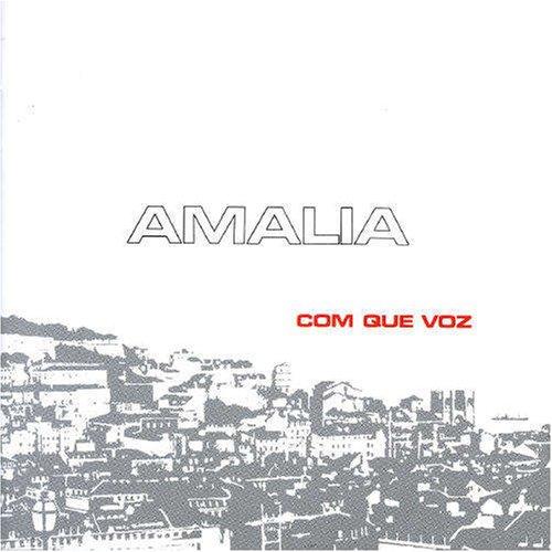 Amália Rodrigues - Com Que Voz album cover