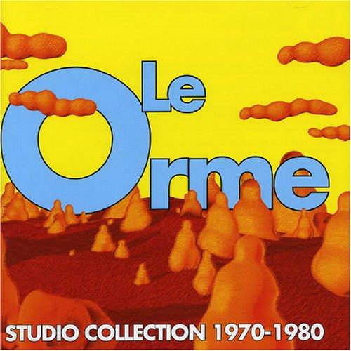 Le Orme - Studio Collect. 1970-1980 album cover
