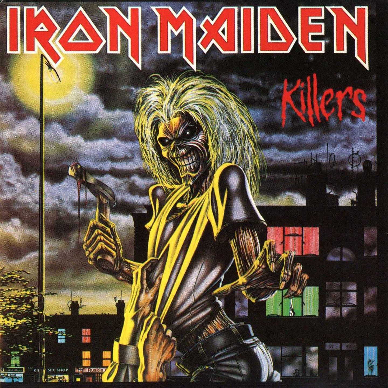 Iron Maiden - Killers album cover