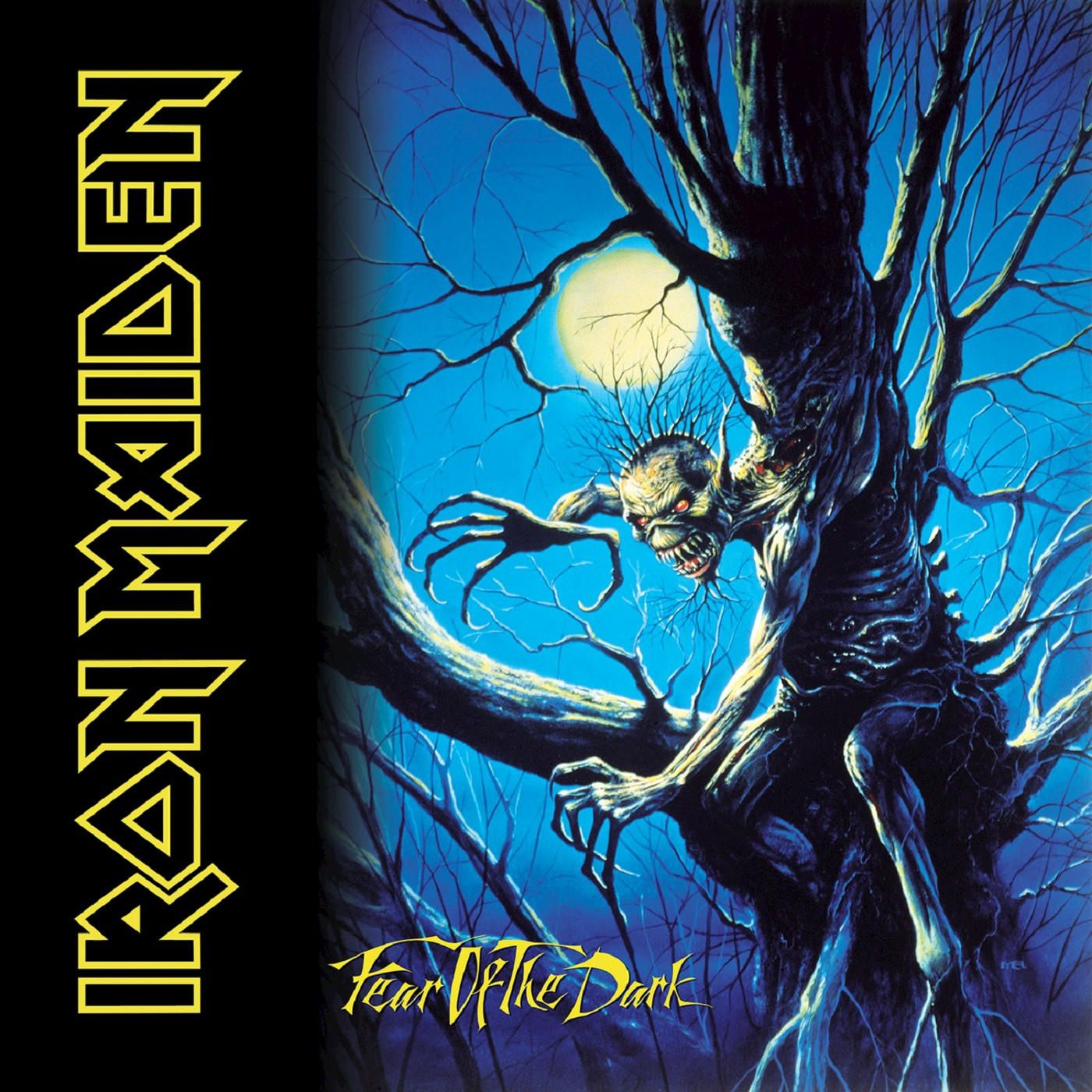 Iron Maiden - Fear Of The Dark album cover