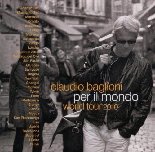 Claudio Baglioni - Per Il Mondo World Tour 2010 album cover