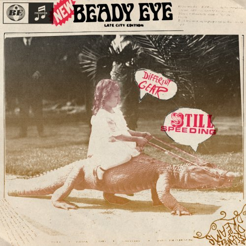 Beady Eye - Different Gear, Still Speeding album cover
