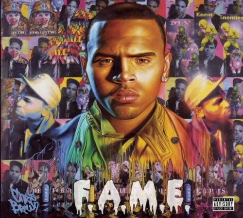 Chris Brown - F.A.M.E. album cover