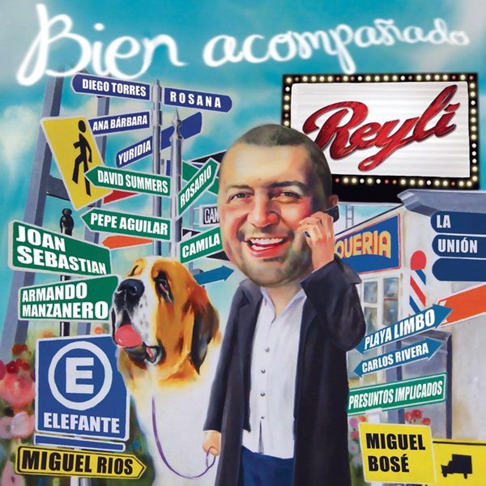 Reyli - Bien Acompañado album cover