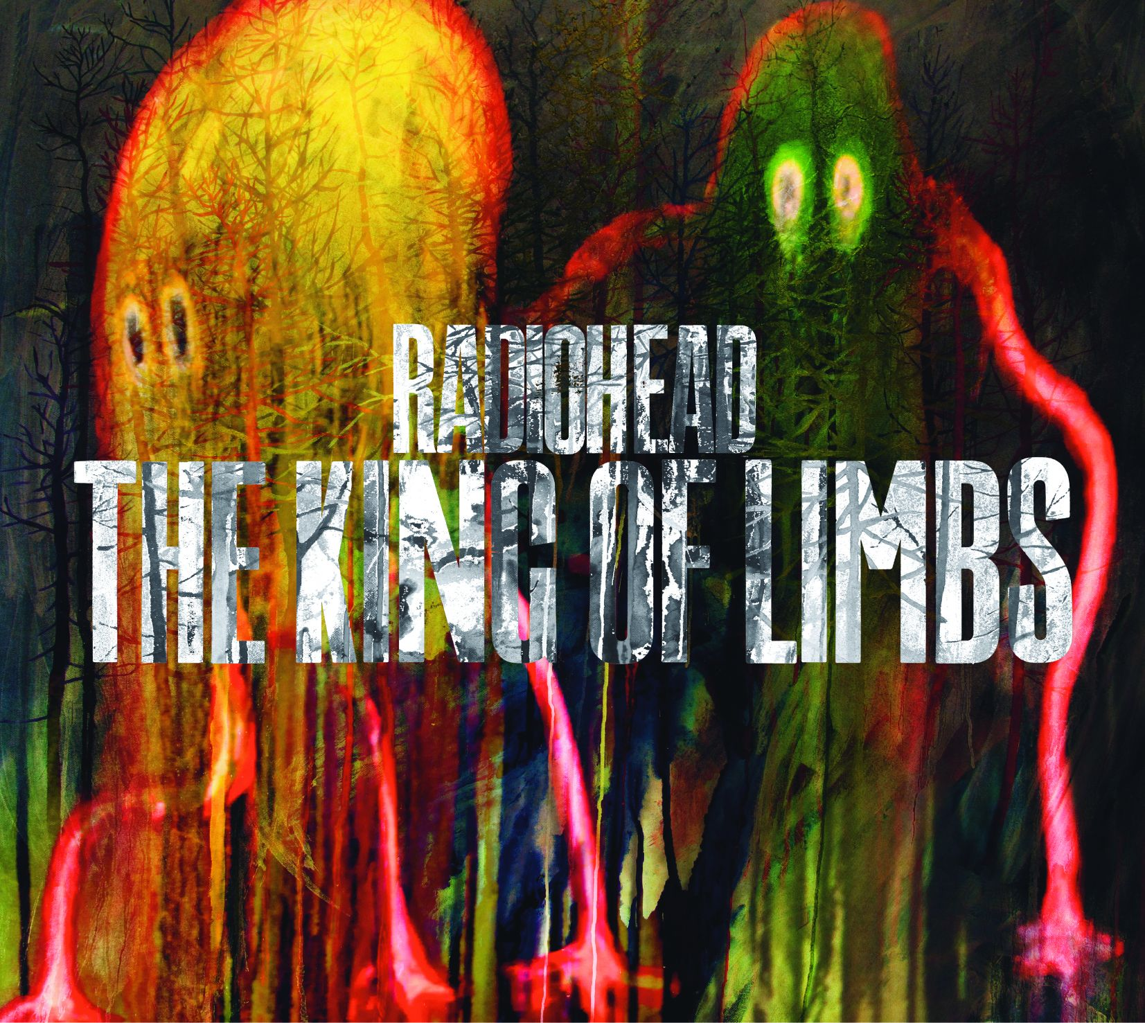 Radiohead - The King Of Limbs album cover