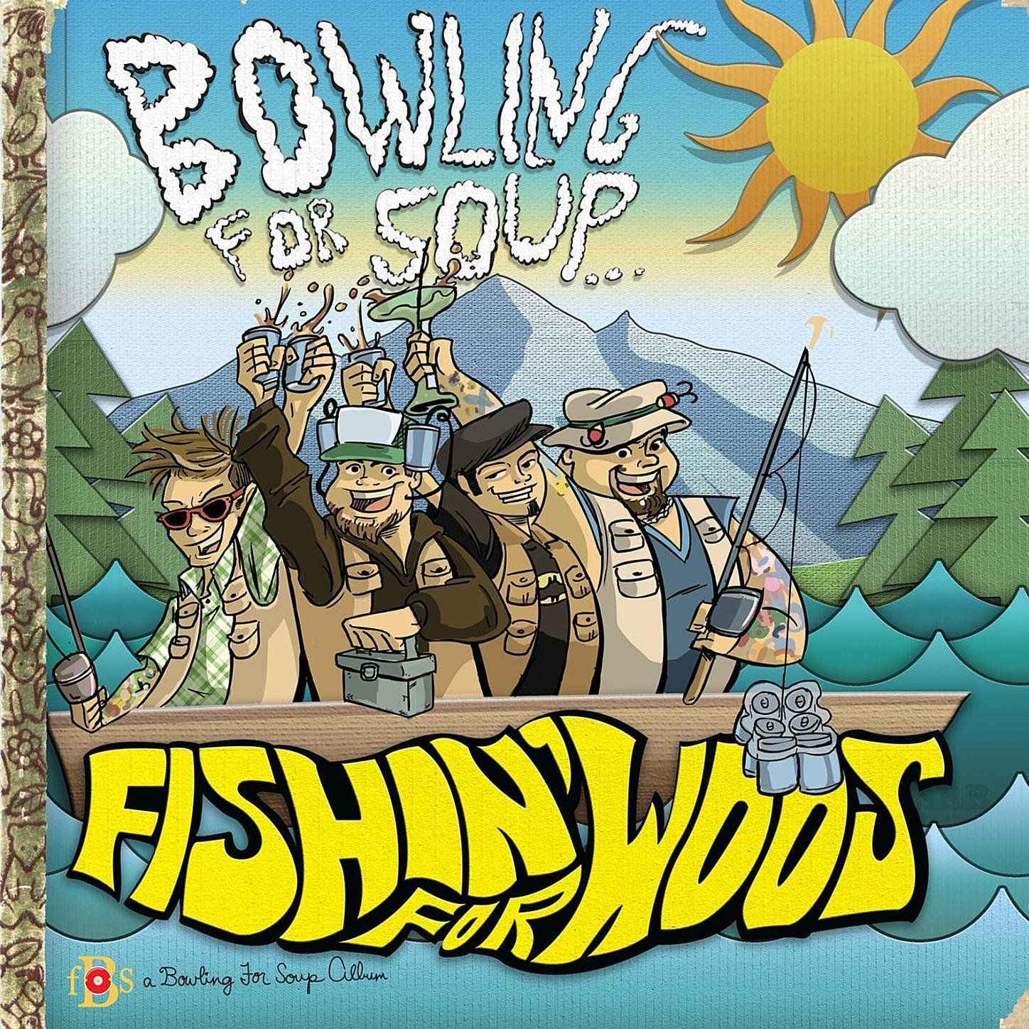 Bowling for Soup - Fishin' For Woos album cover