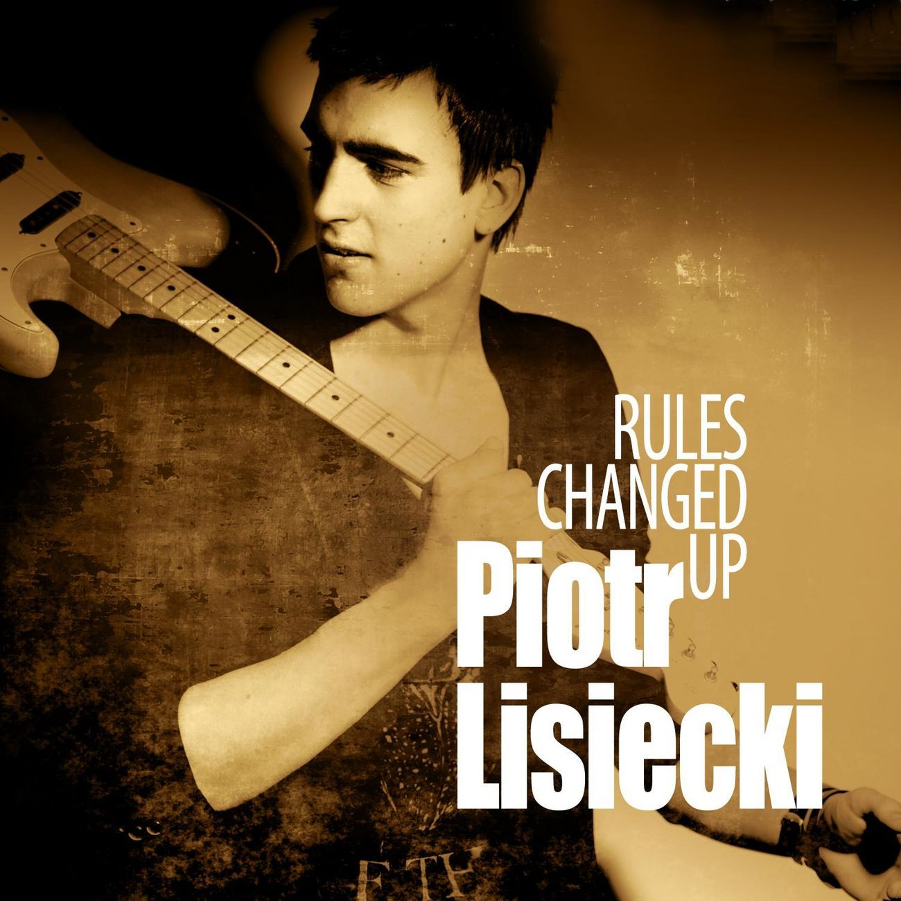 Piotr Lisiecki - Rules Changed Up album cover