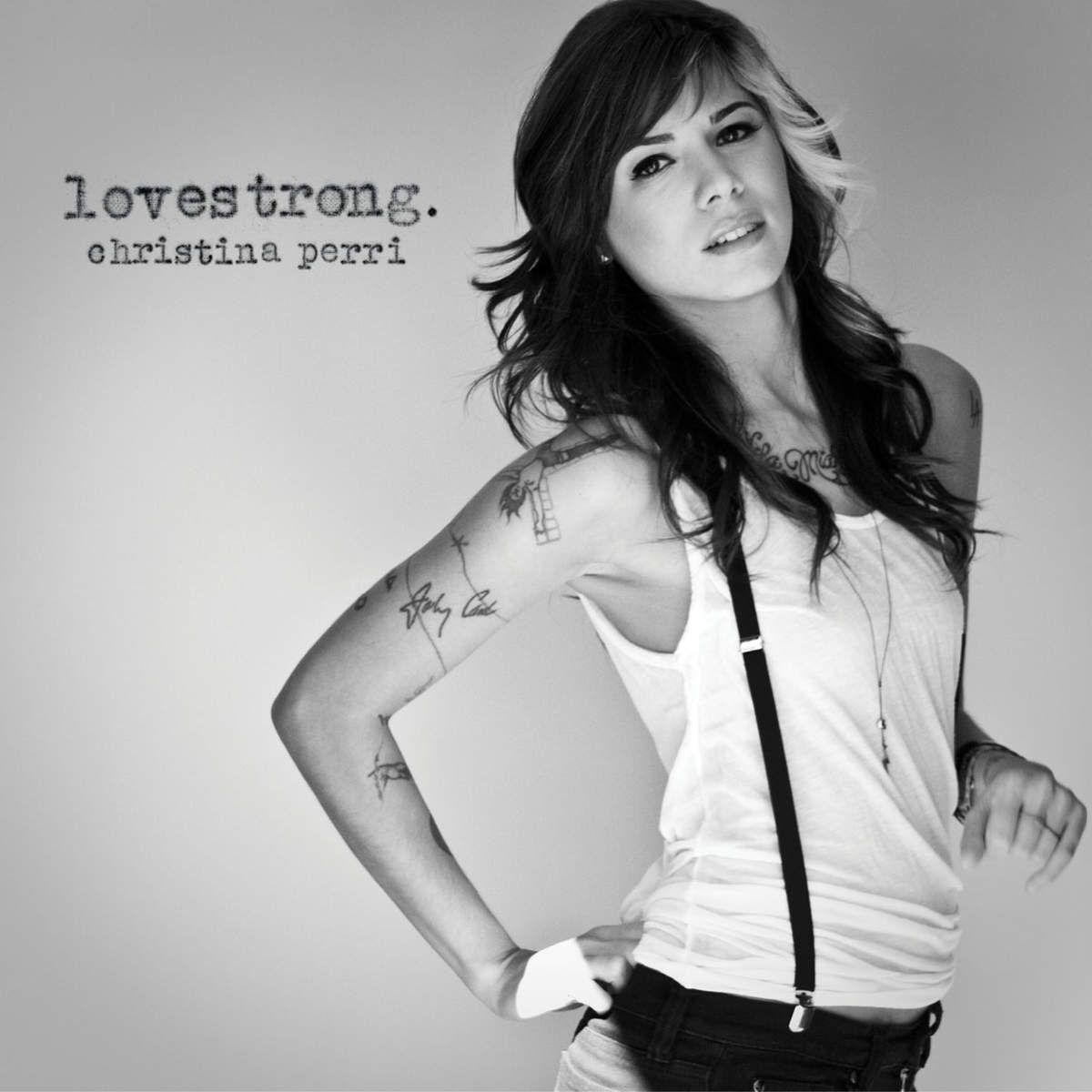 Christina Perri - Lovestrong. album cover