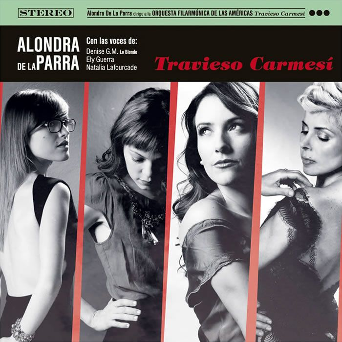 Alondra De La Parra - Travieso Carmesi album cover