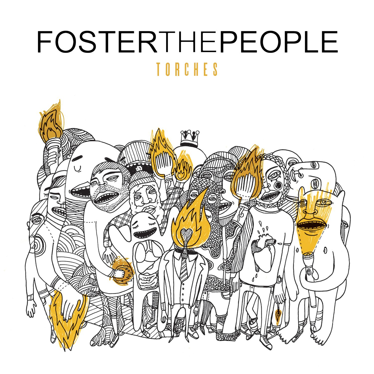 Foster The People - Torches album cover
