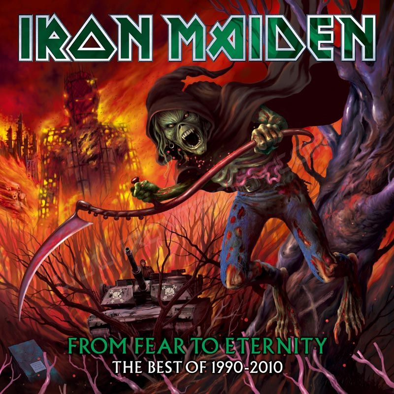 Iron Maiden - From Fear To Eternity: Best Of 1990-2010 album cover