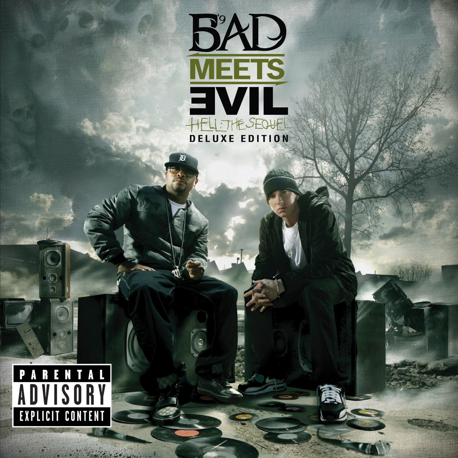 Bad Meets Evil - Hell: The Sequel album cover