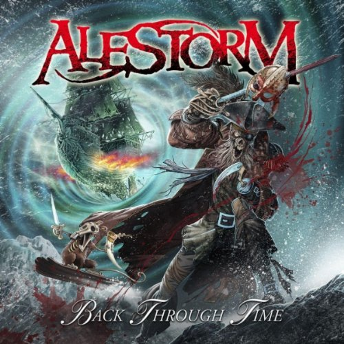 Alestorm - Back Through Time album cover