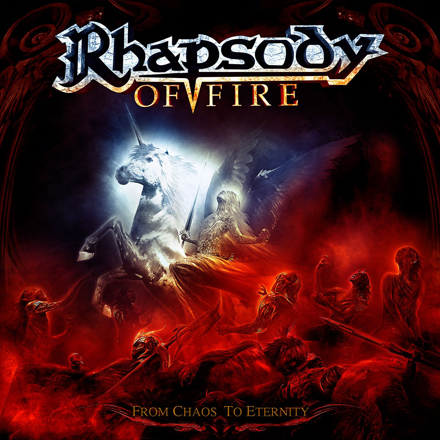 Rhapsody Of Fire - From Chaos To Eternity album cover