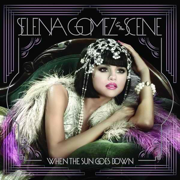 Selena Gomez & The Scene - When The Sun Goes Down album cover