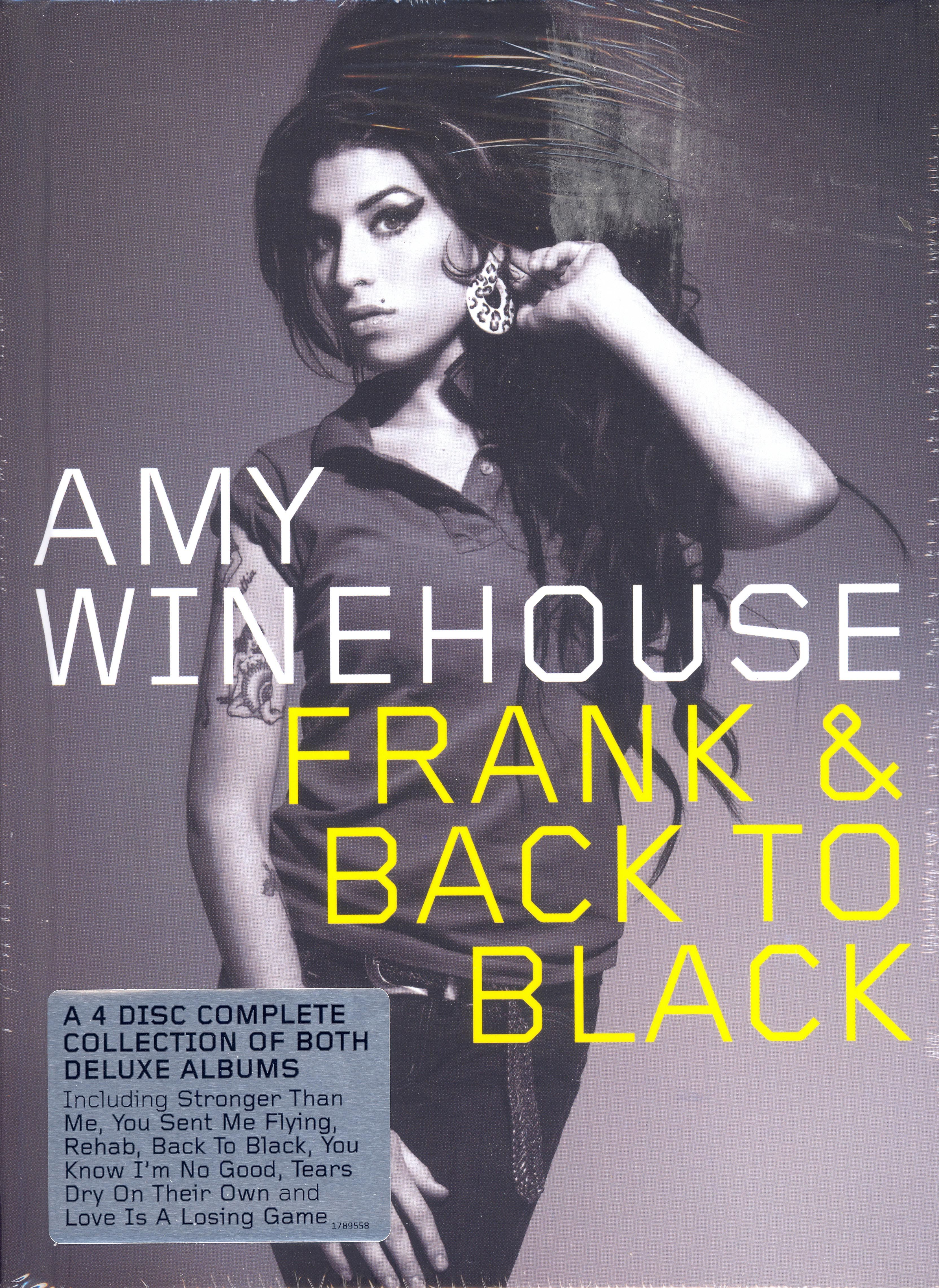 Amy Winehouse - Frank / Back To Black album cover