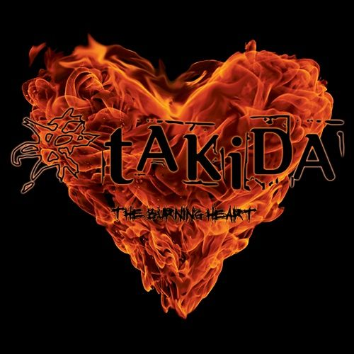 Takida - The Burning Heart album cover
