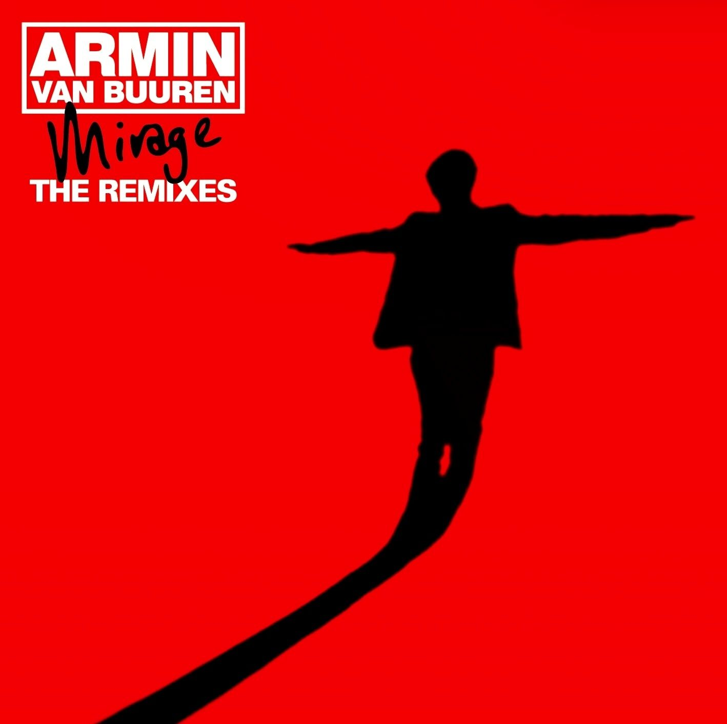 Armin Van Buuren - Mirage: The Remixes album cover