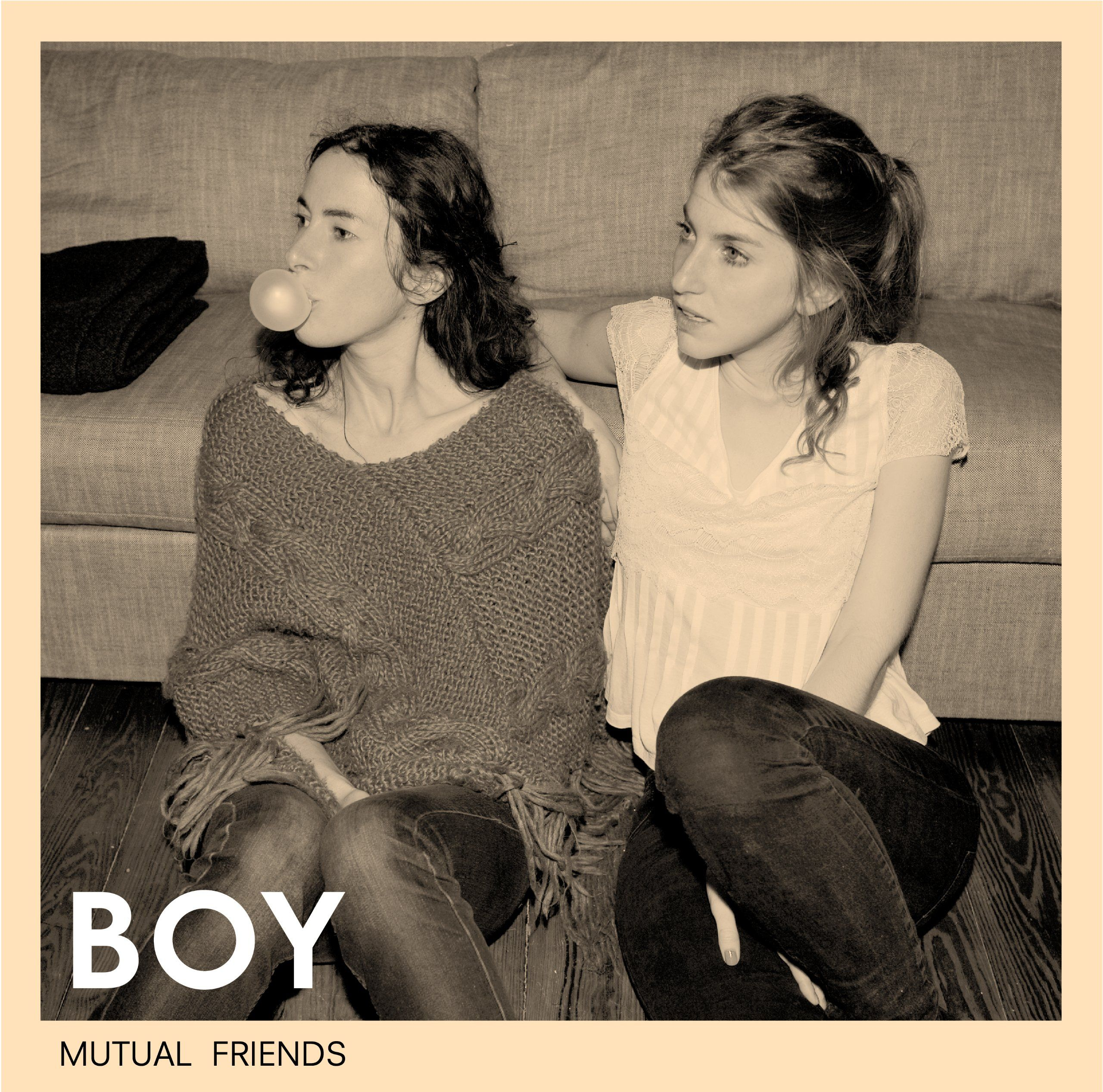 BOY - Mutual Friends album cover