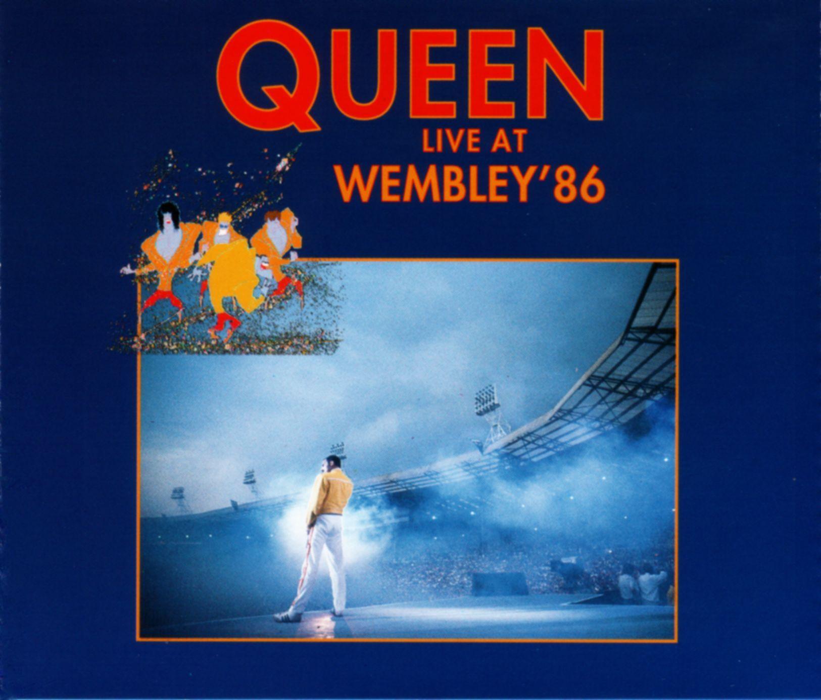 Queen - Live At Wembley Stadium 25th Anniversary album cover