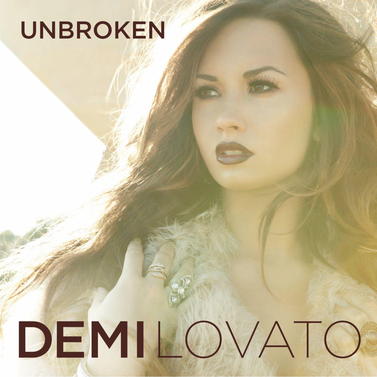 Demi Lovato - Unbroken album cover