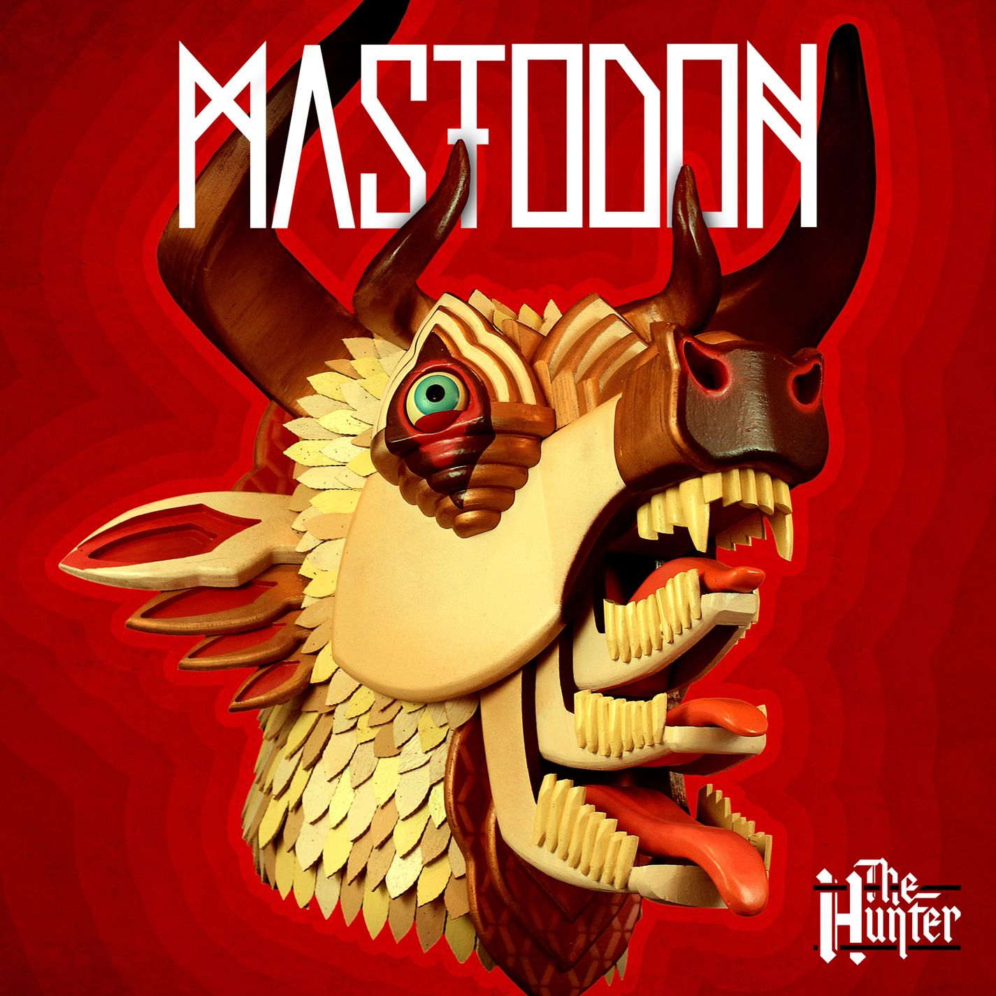 Mastodon - The Hunter album cover