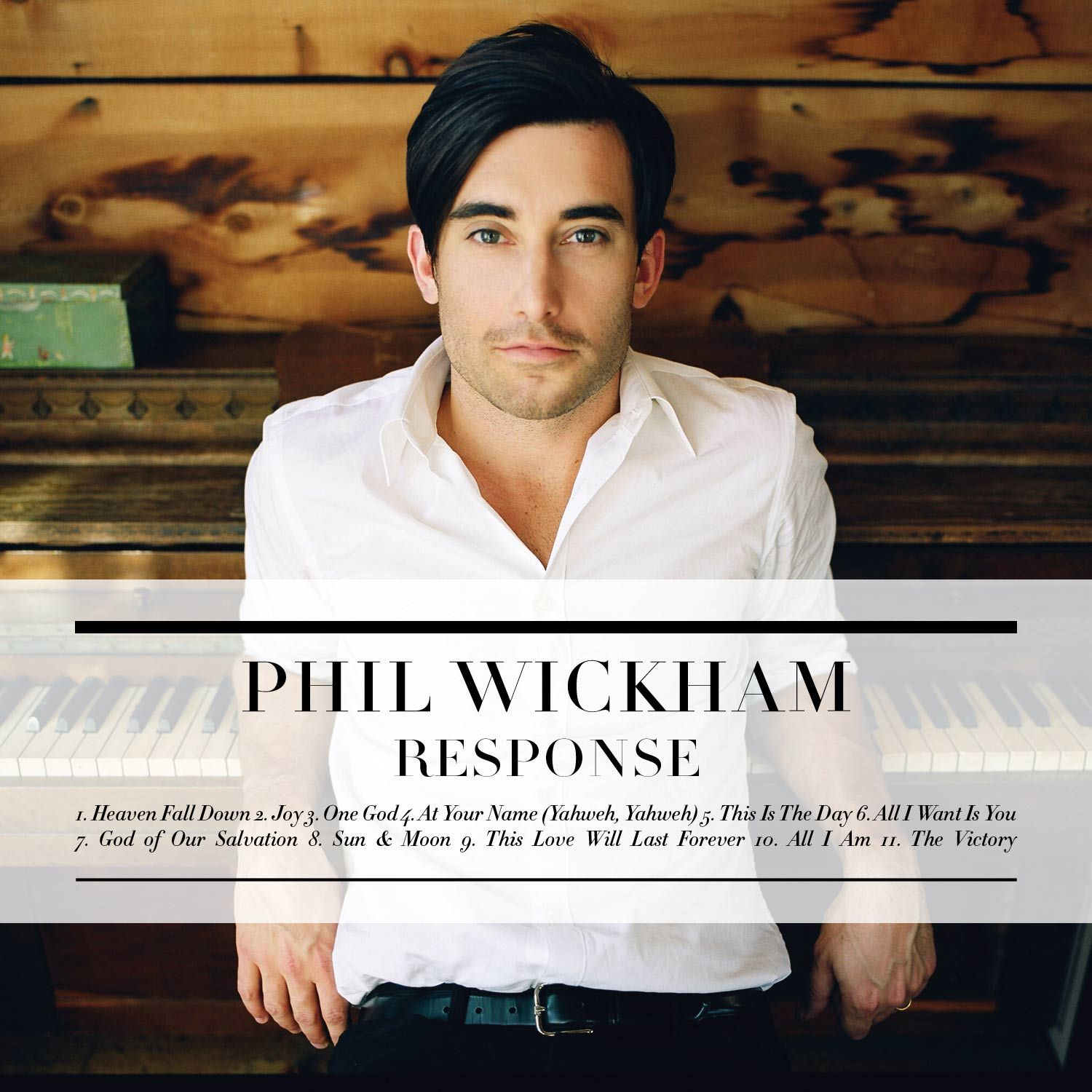Phil Wickham - Response album cover