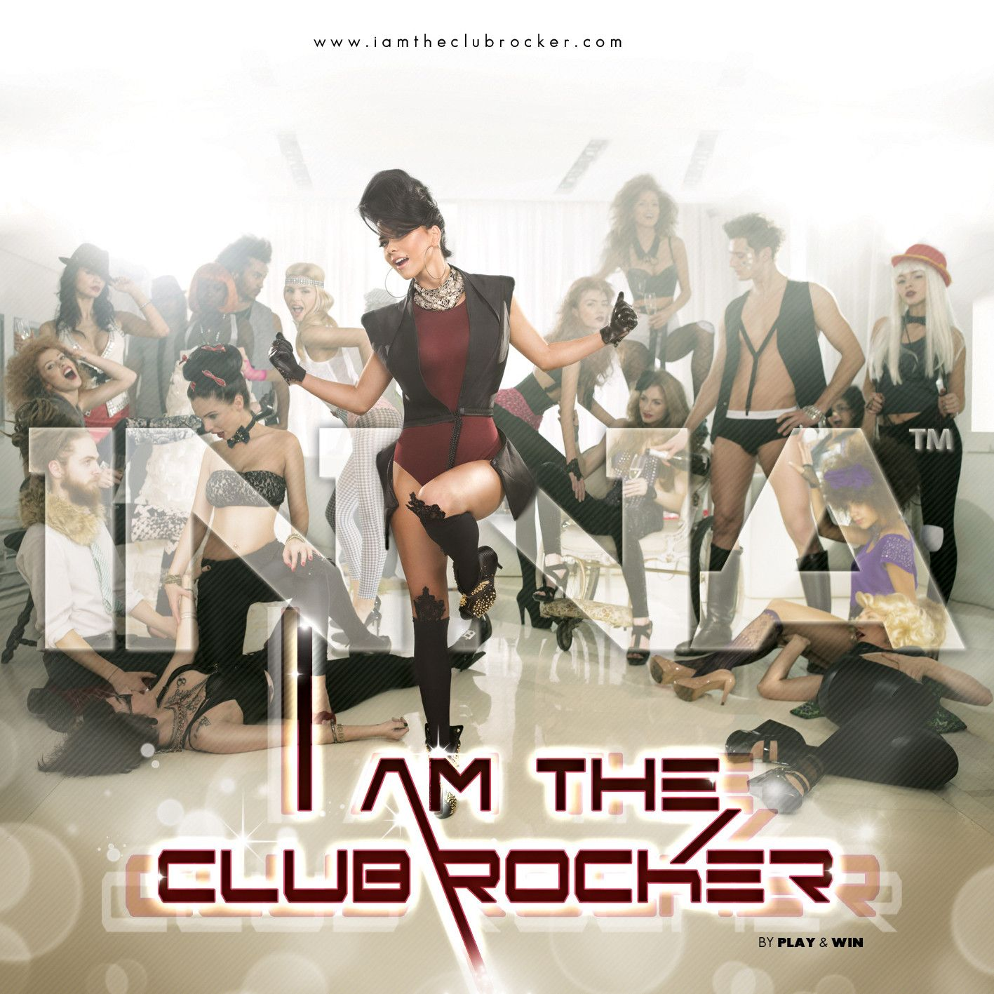 Inna - I Am The Club Rocker album cover