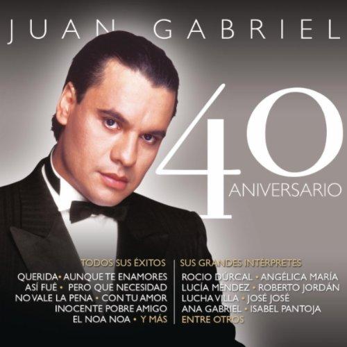Juan Gabriel - 40 Aniversario album cover