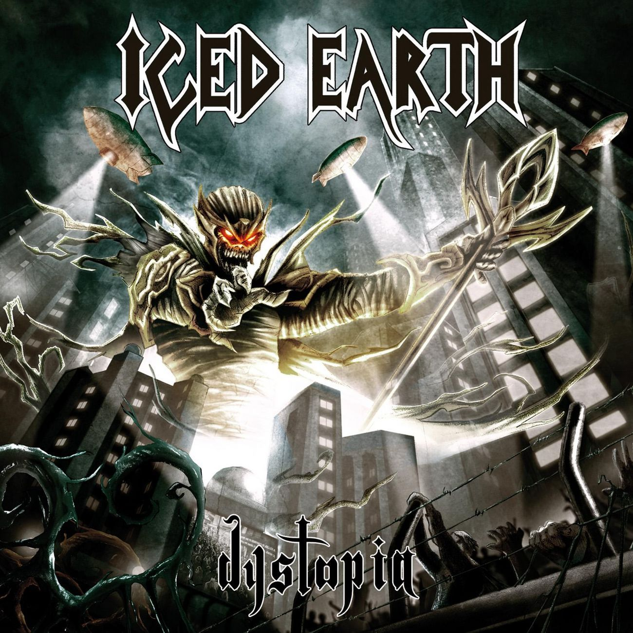Iced Earth - Dystopia album cover