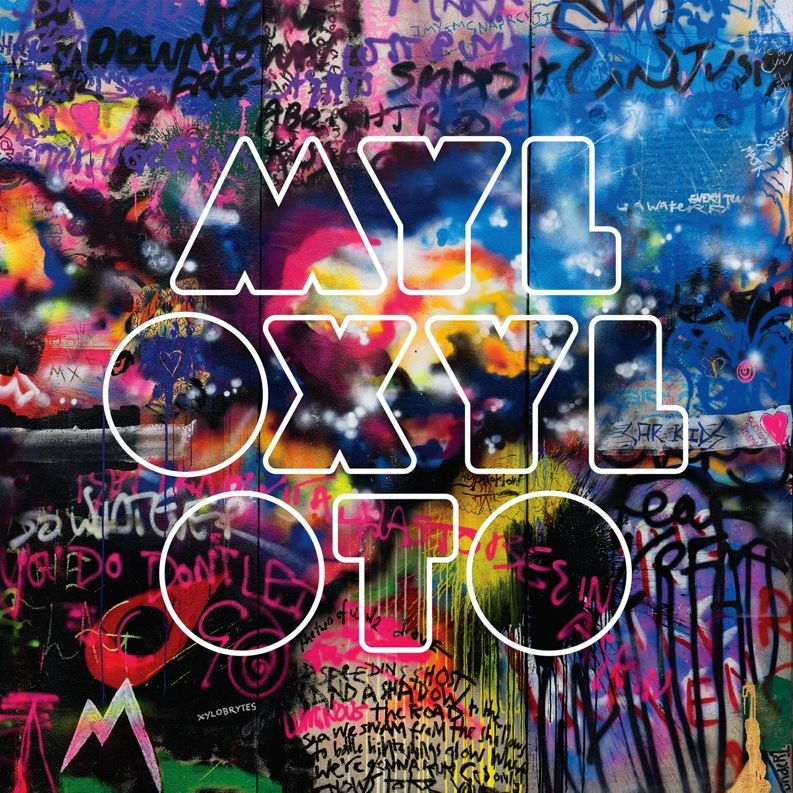 Coldplay - Mylo Xyloto album cover