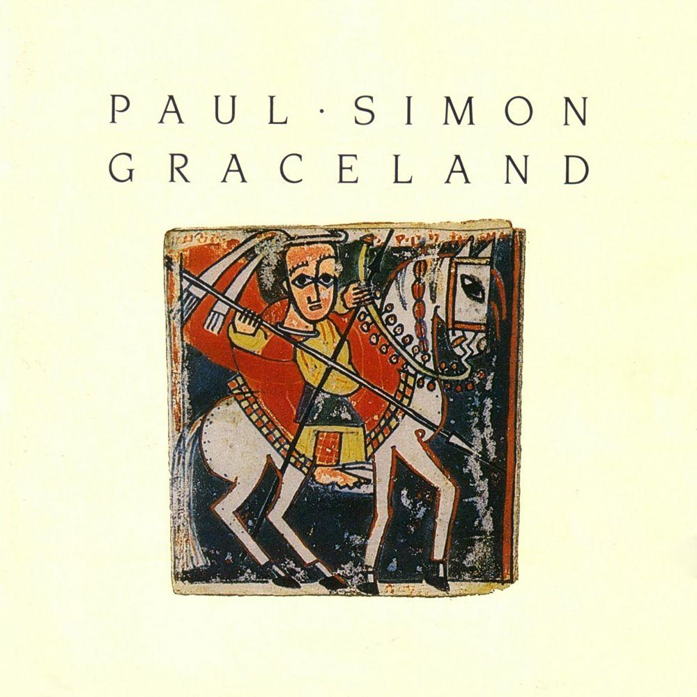 Paul Simon - Graceland album cover