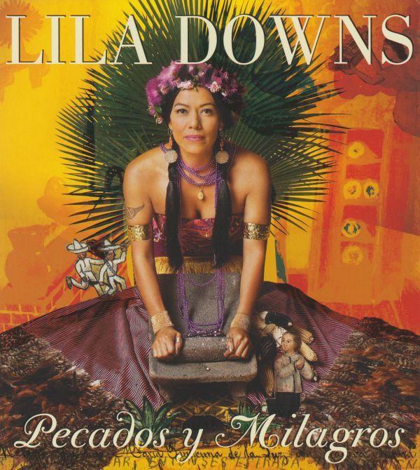 Lila Downs - Pecados Y Milgros album cover