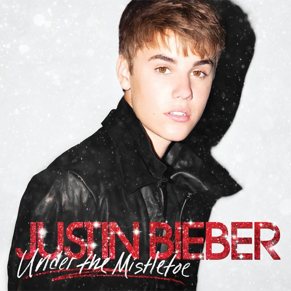 Justin Bieber - Under The Mistletoe album cover