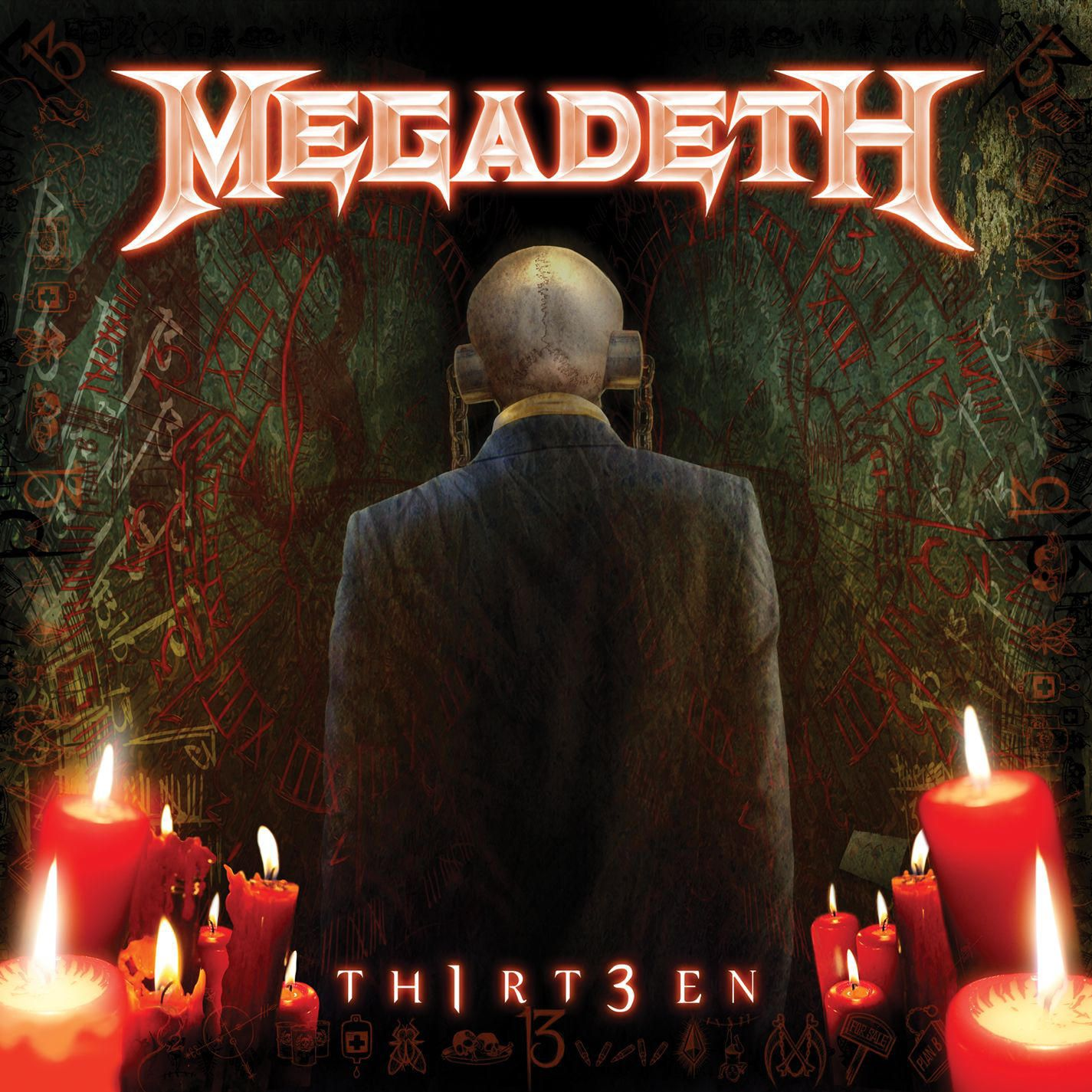 Megadeth - Th1rt3en album cover