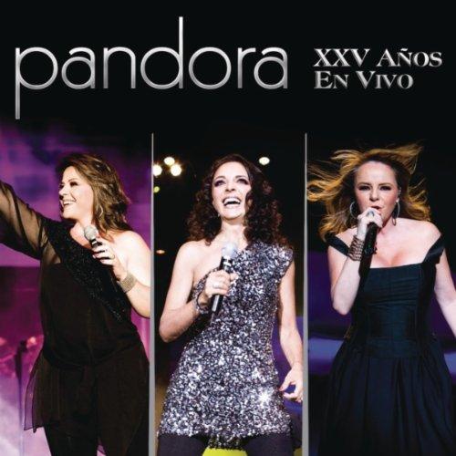 Pandora - Xxv Años En Vivo album cover