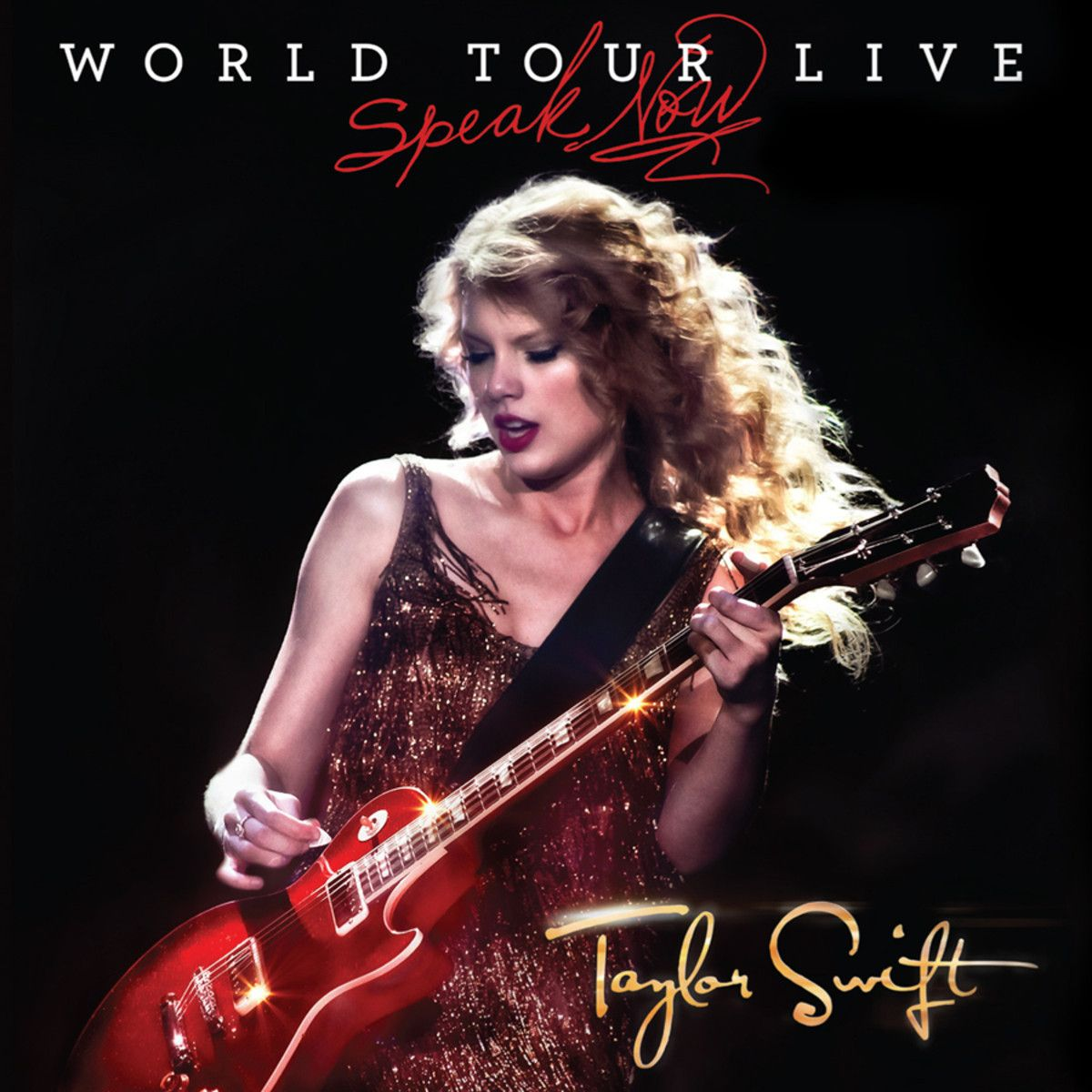 Taylor Swift - Speak Now: World Tour Live Cd + Dvd album cover